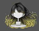 金蛍の輝舞髪